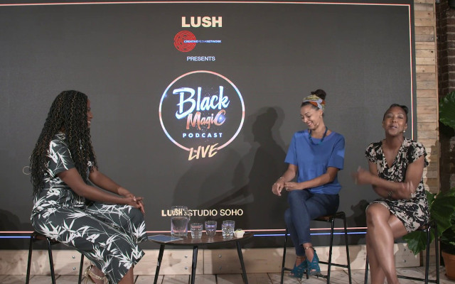 Black Magic Podcast Live with Angellica Bell and Jessica Huie MBE